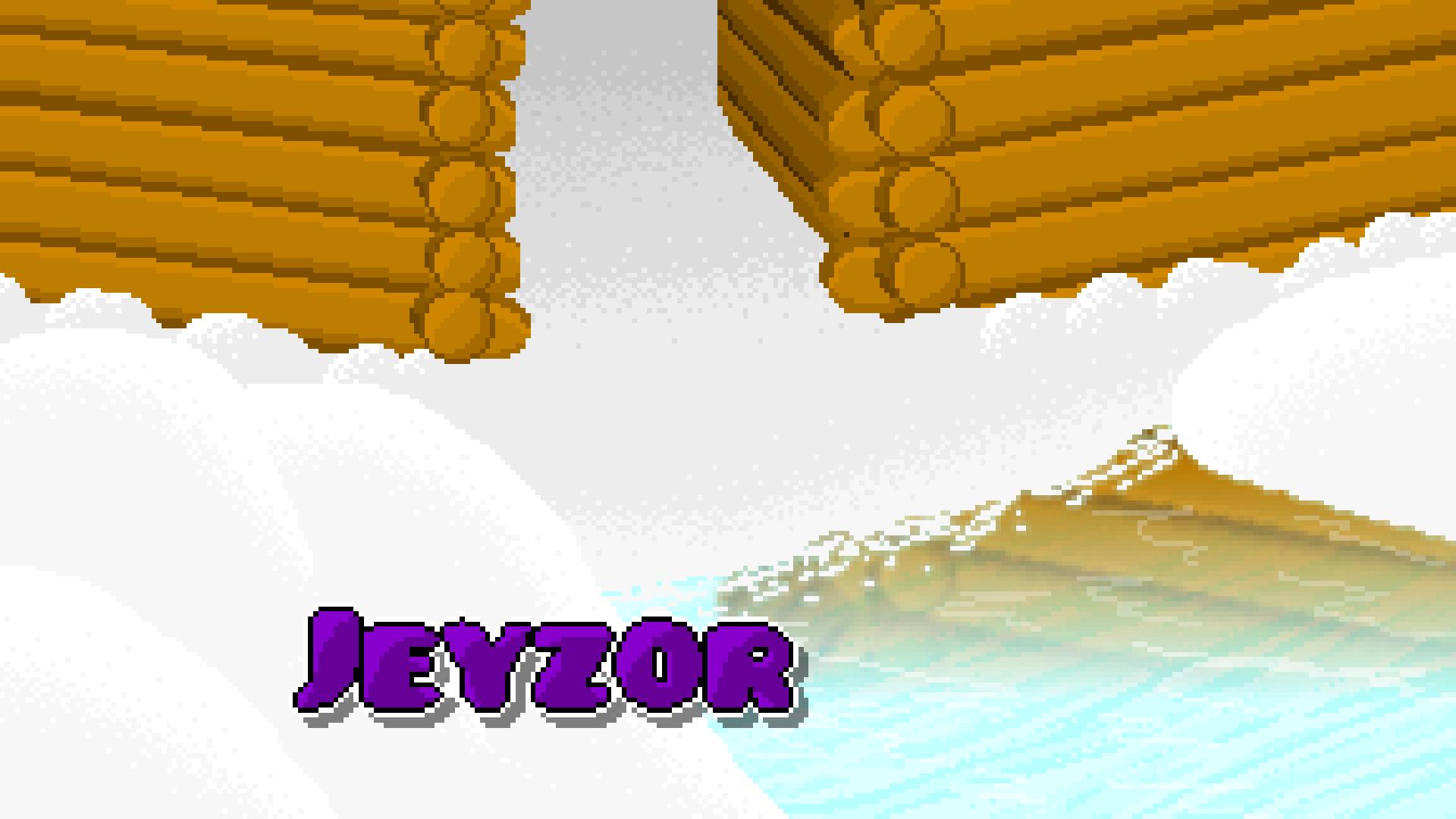 Chilly snow pixel art [wallpaper]