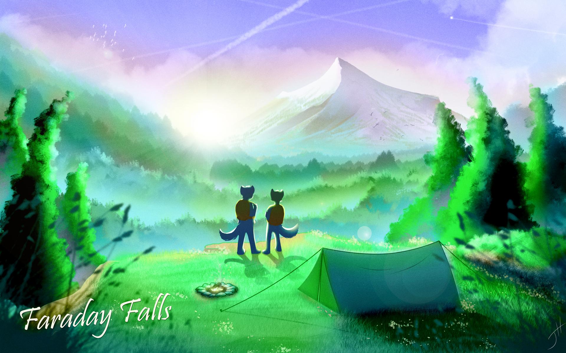 Faraday Falls
