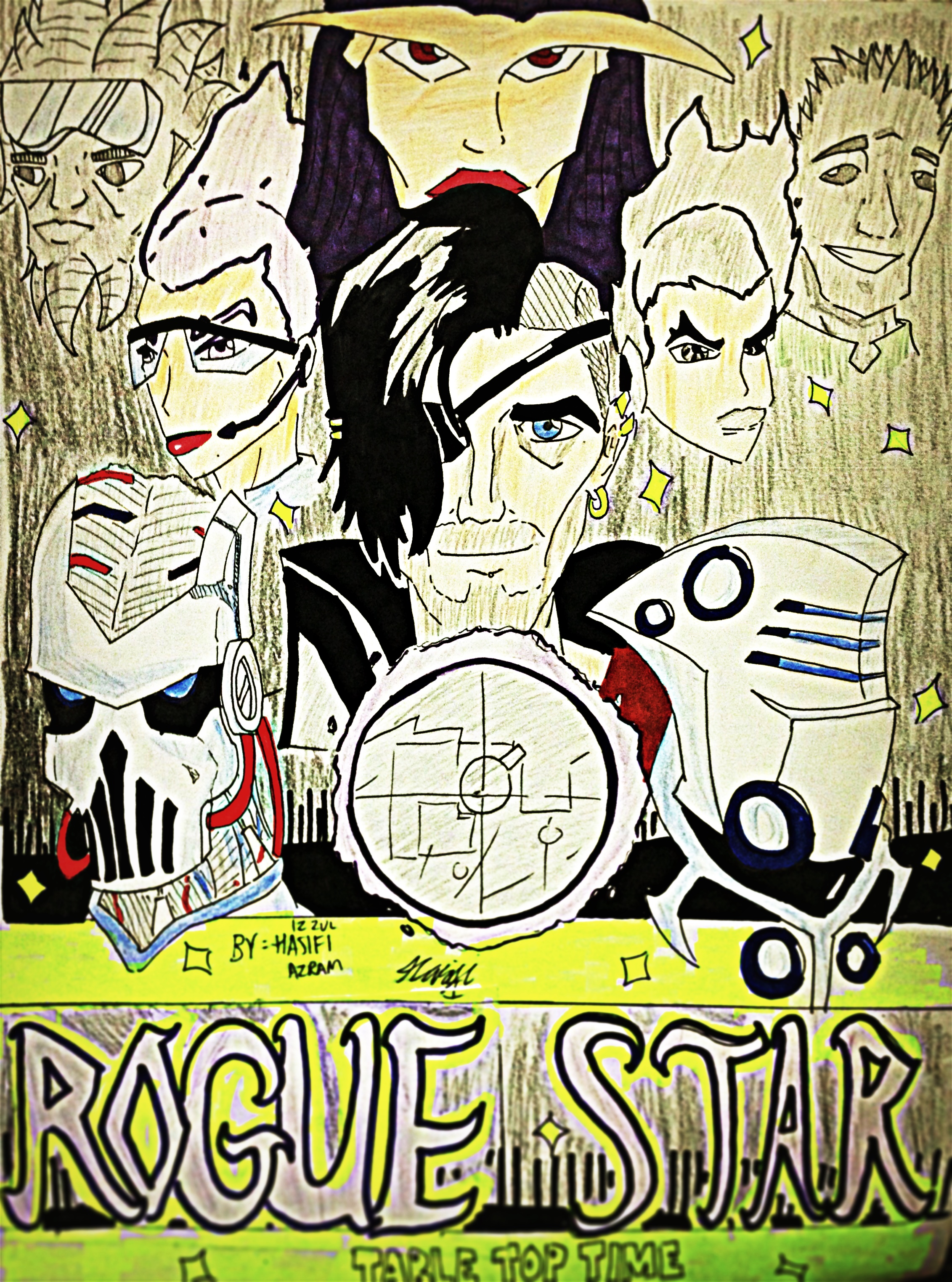 Rogue Star Space Opera Poster