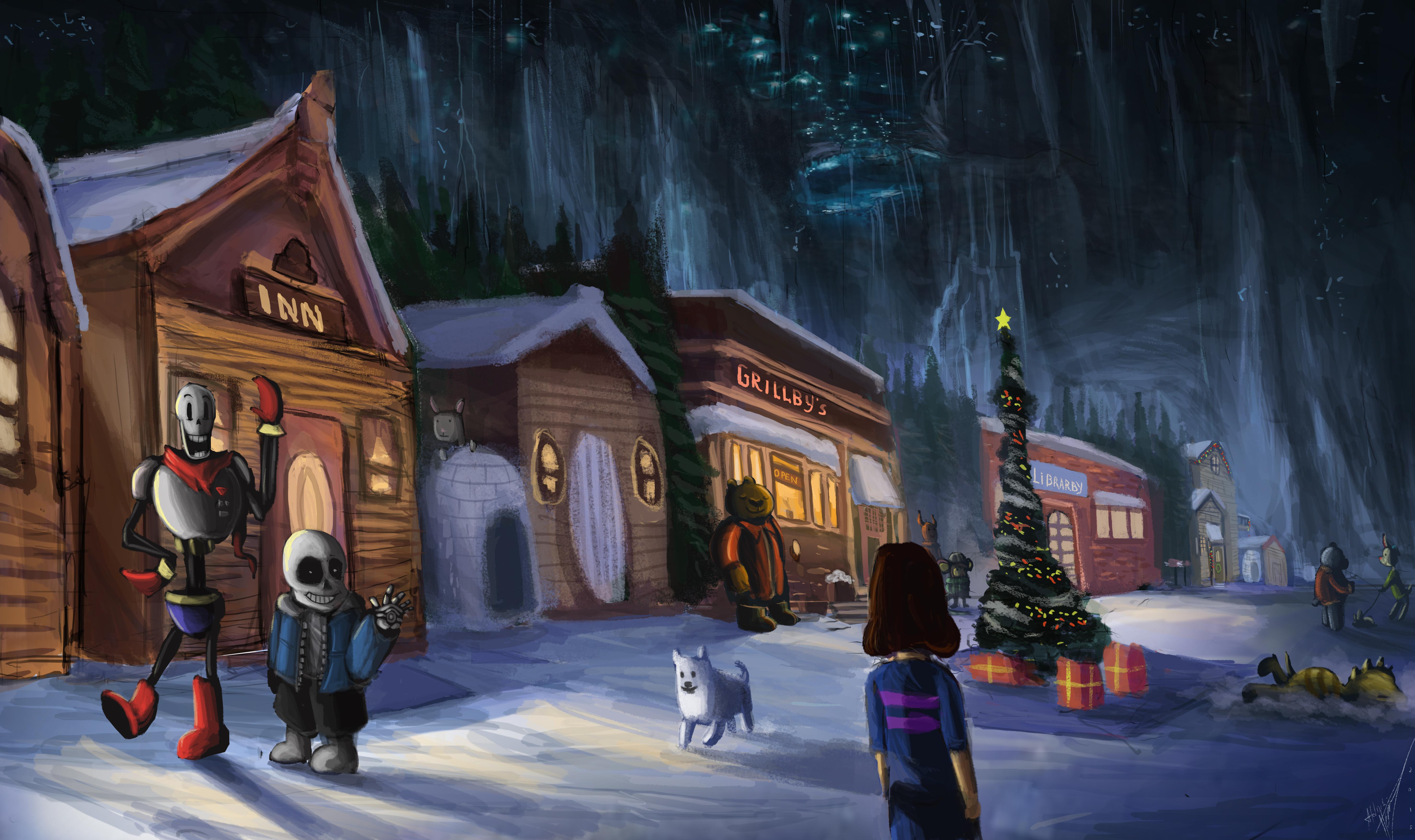 Snowdin town