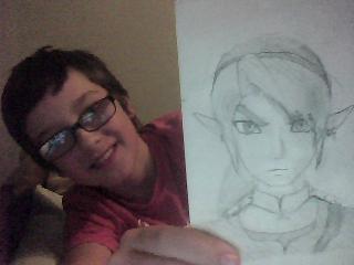 Link from, THE LEGEND OF ZELDA twilight princess