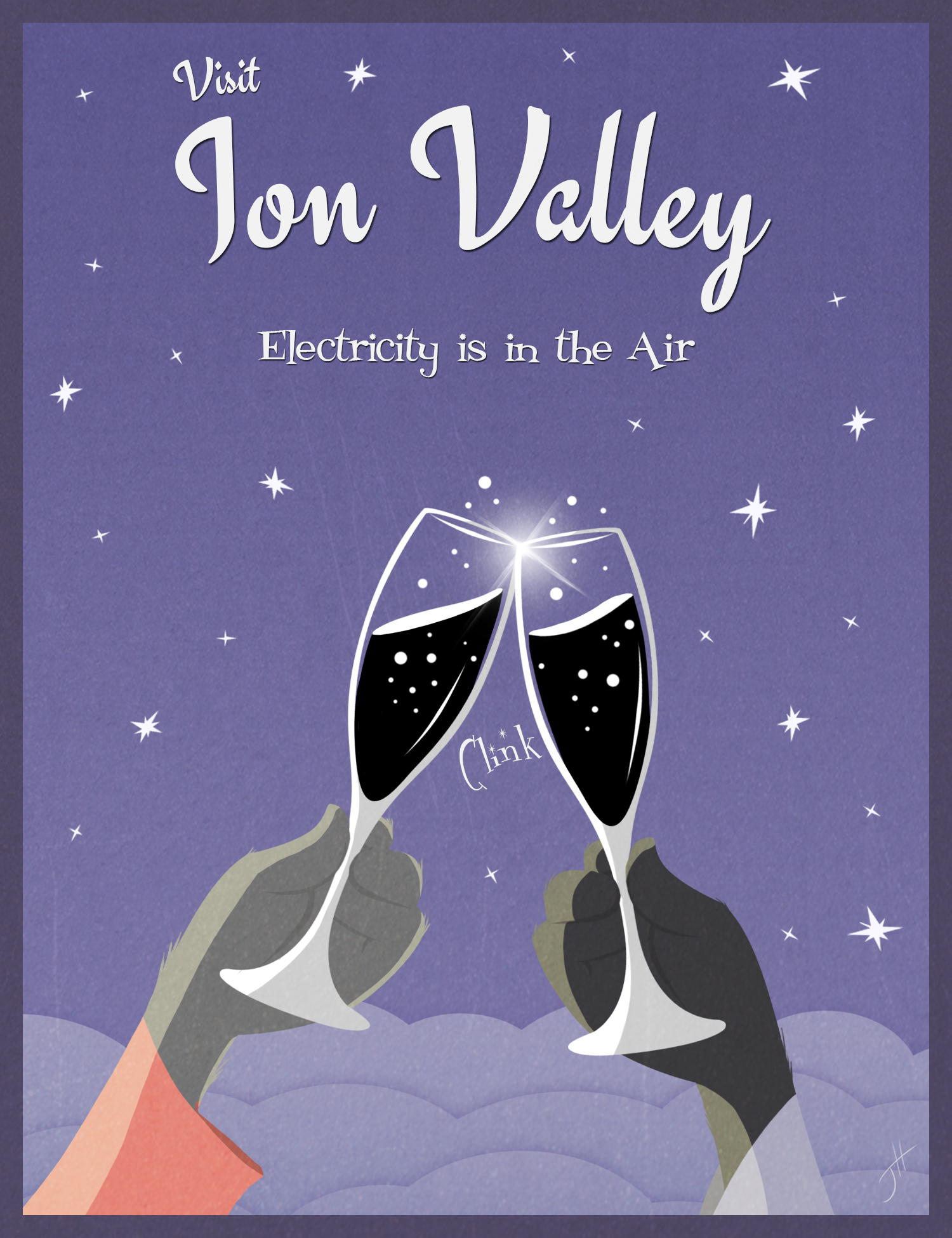 Ion Valley Poster Ad