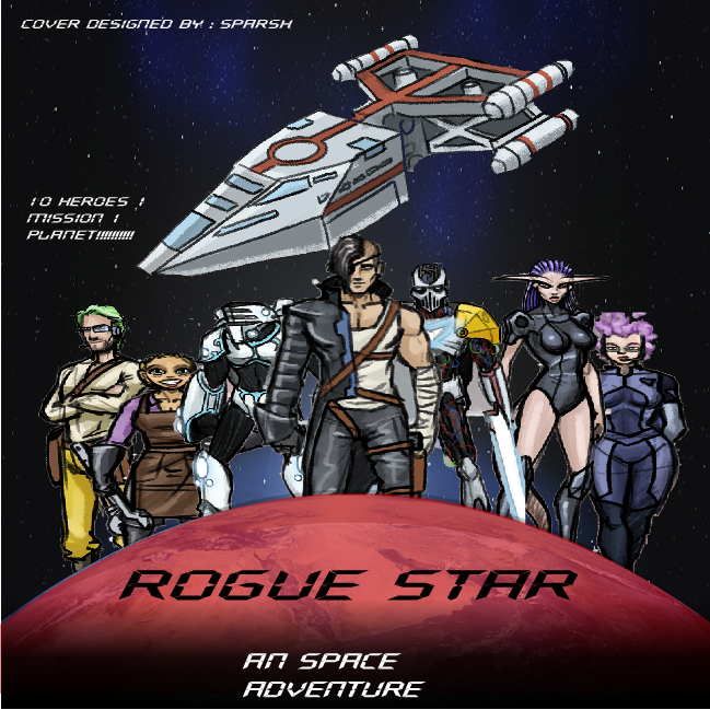 Rogue Star Poster