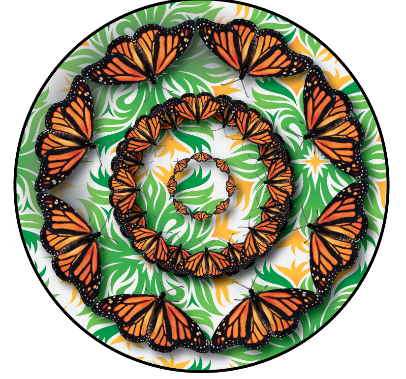 Monarch Platter