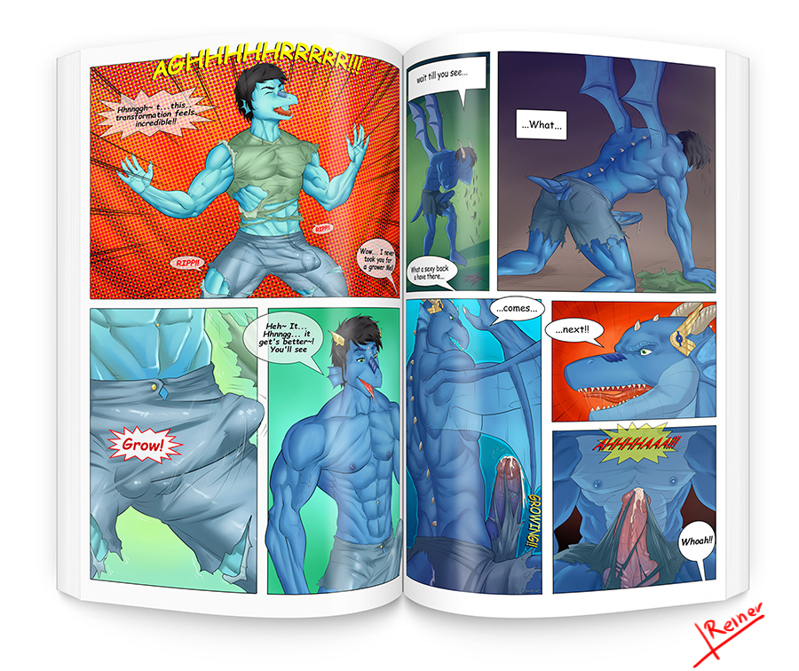 Dragon TF comic 5 pages