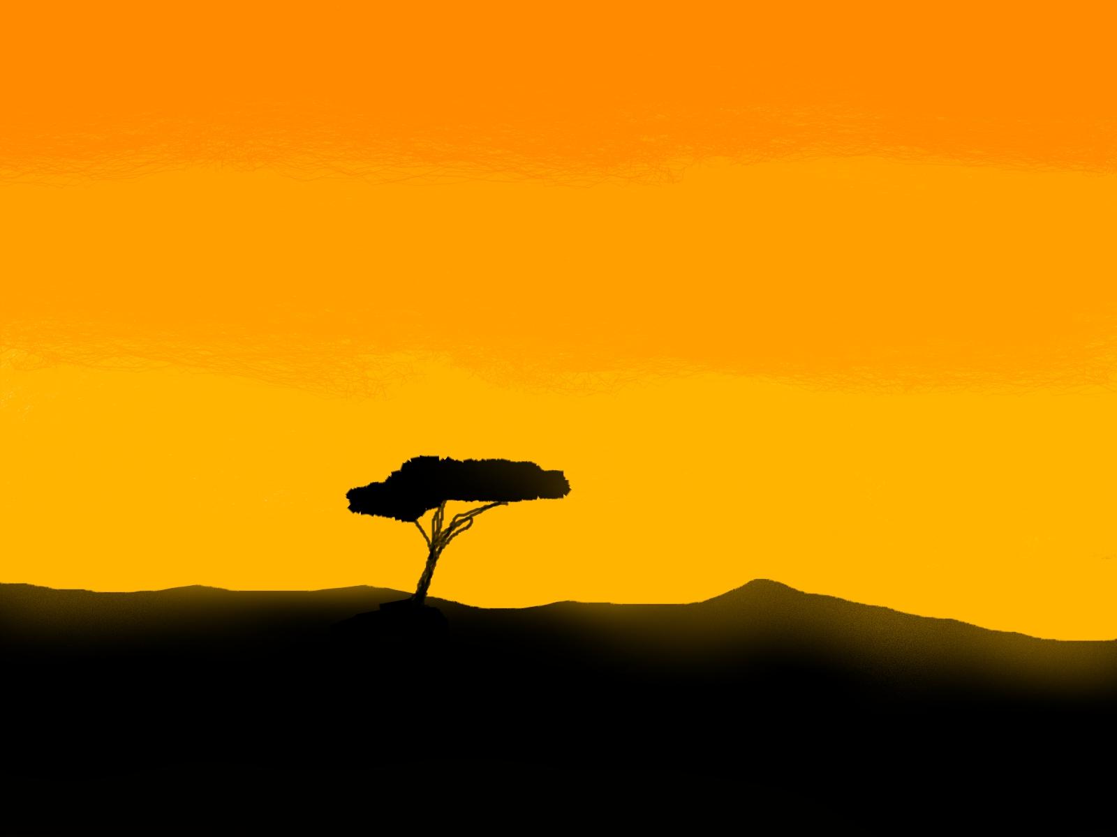 Sunset Savannah