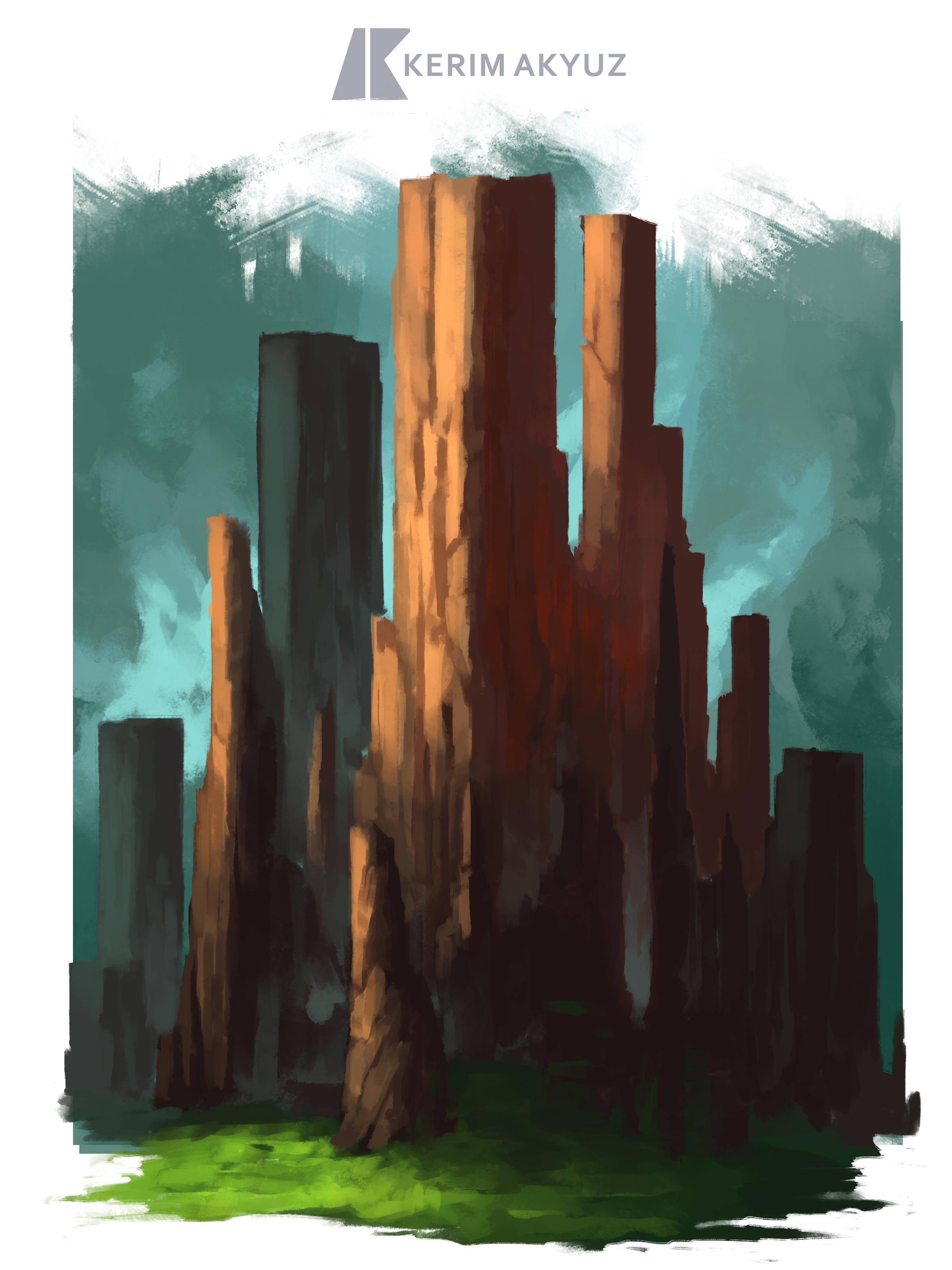 Daily Imagination #73 - Square Land