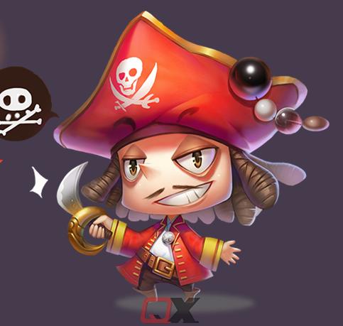 2D game art- cute character