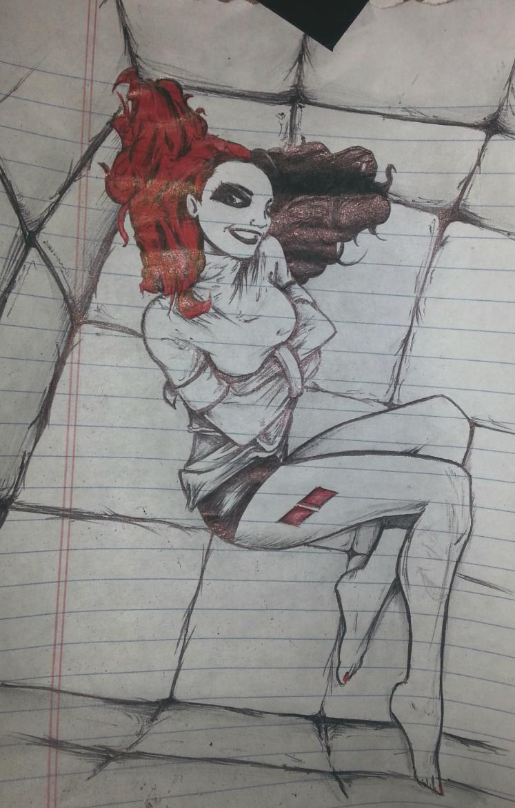 Sketchy Harley