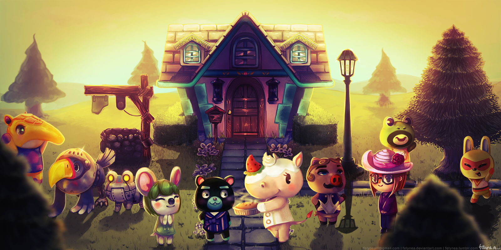Animal Crossing Town