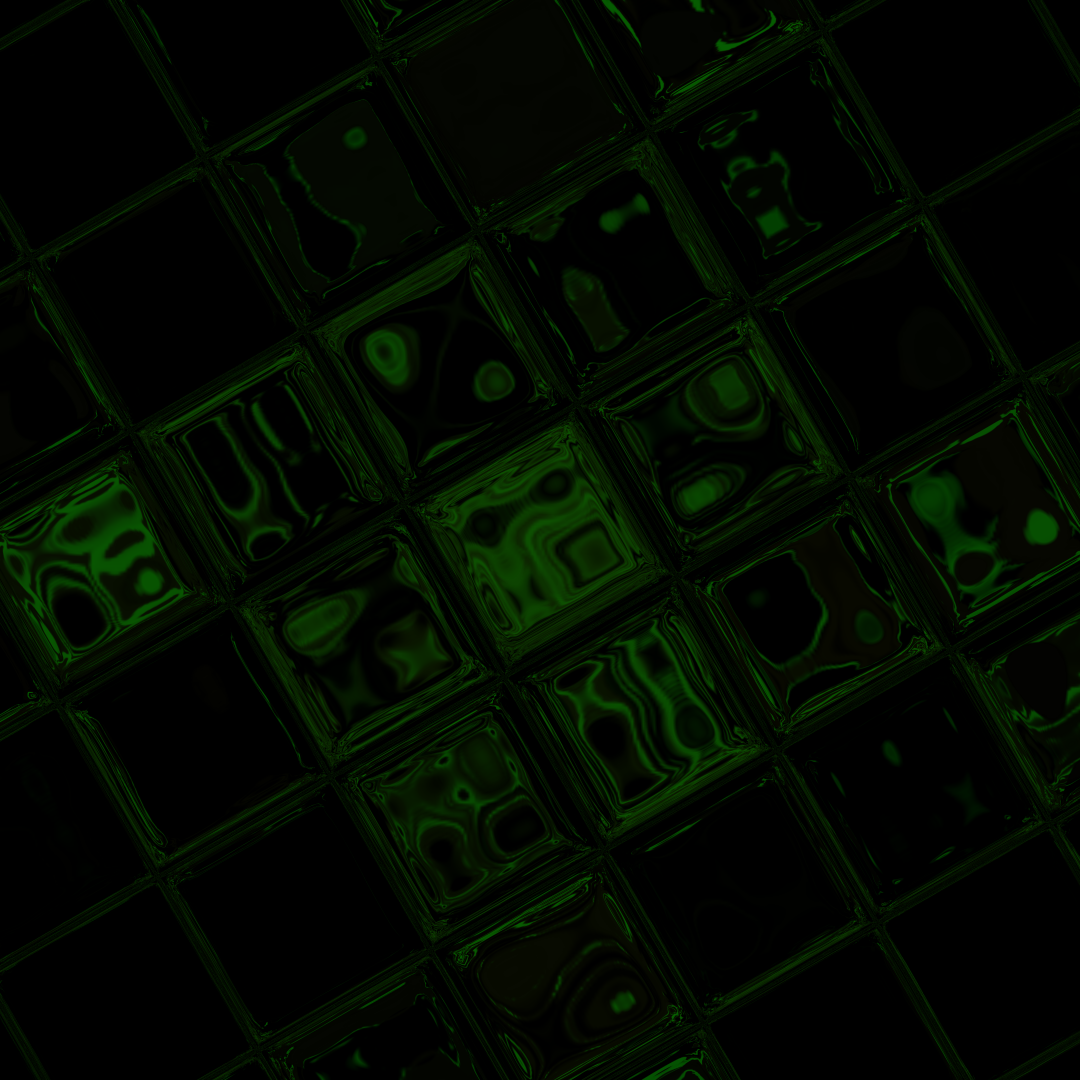 Shiny Green Tiles