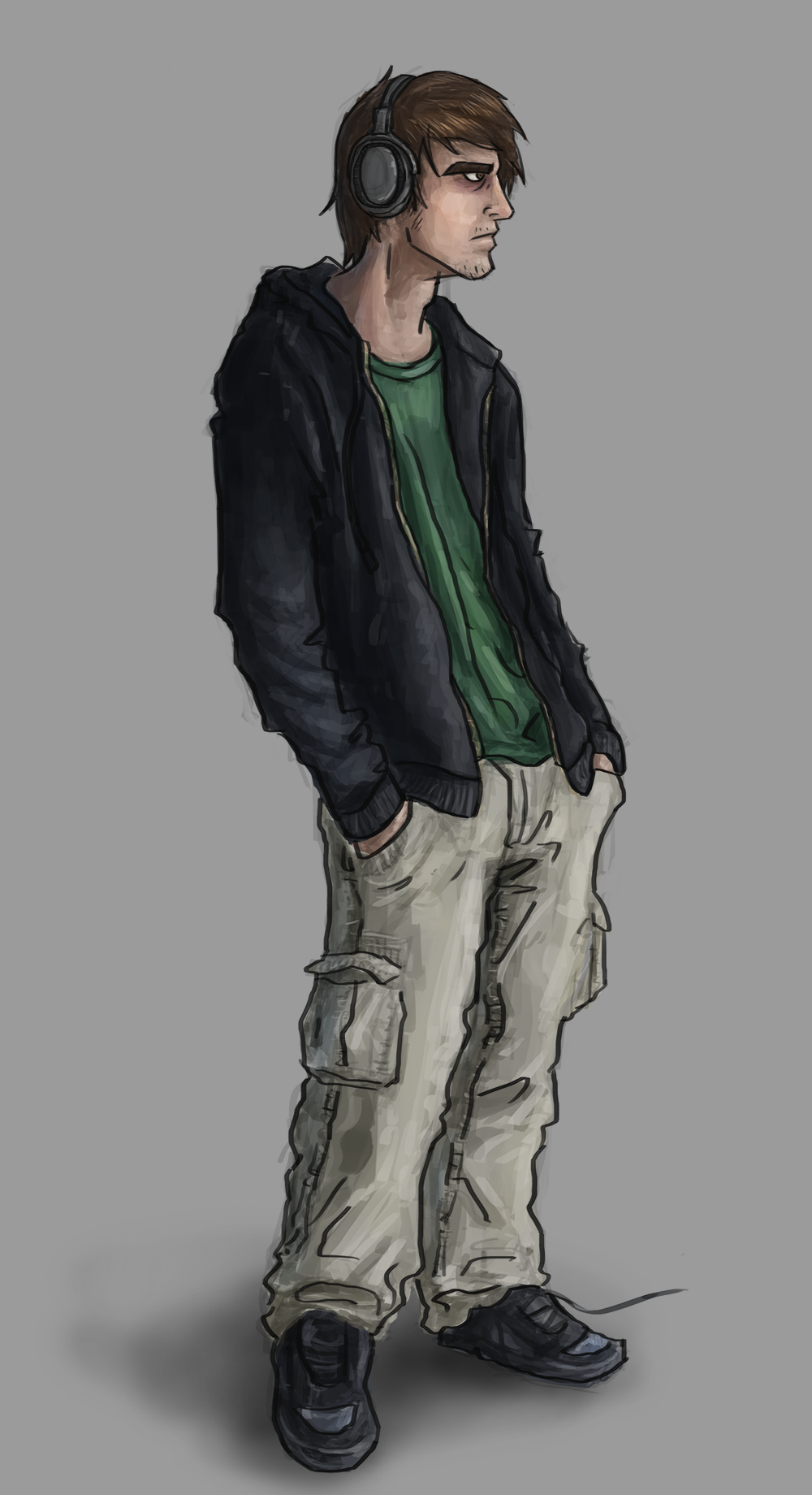 Quick Self-portrait
