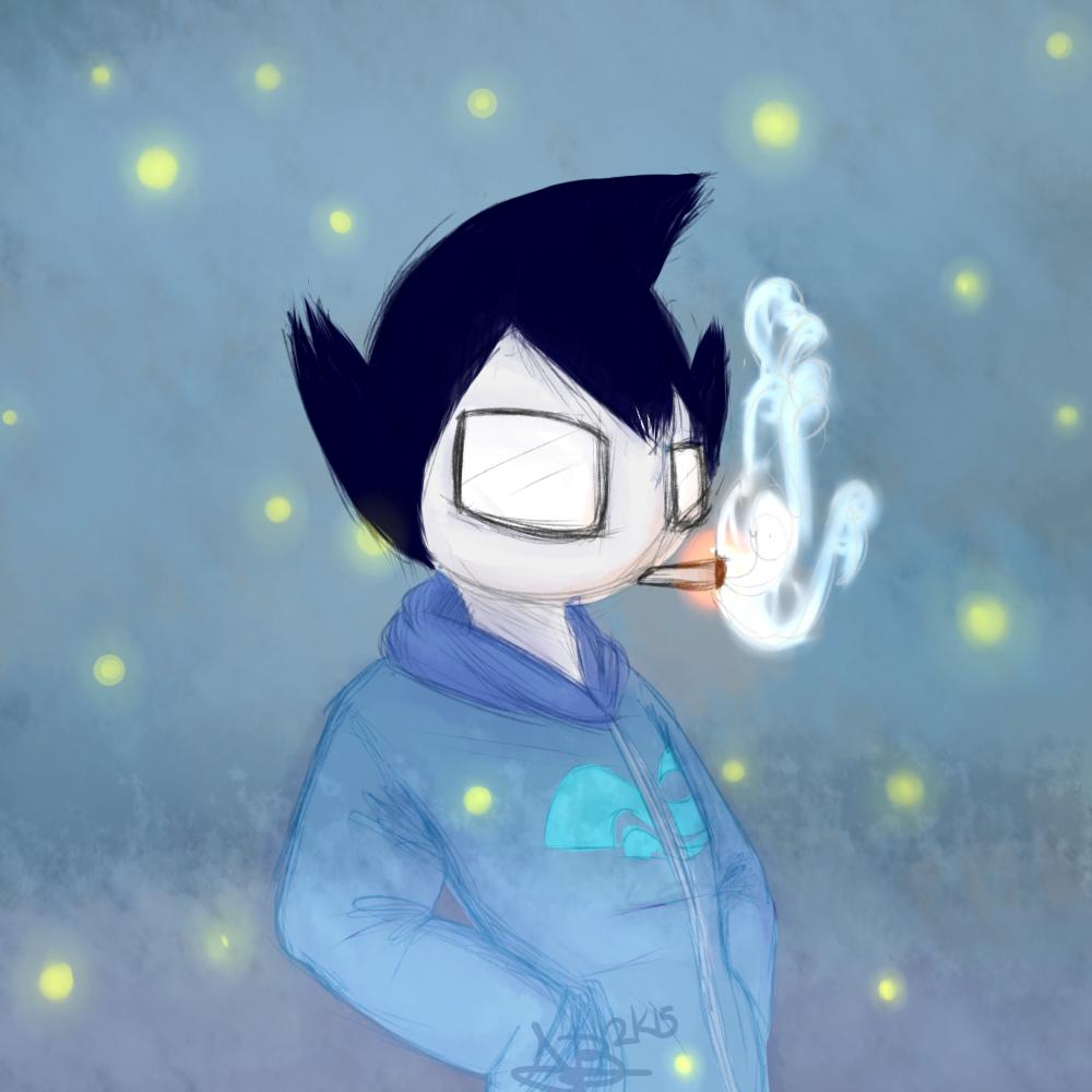 Smoke and Fireflies