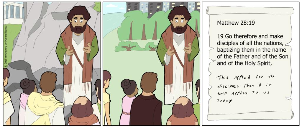 Matthew 28 19