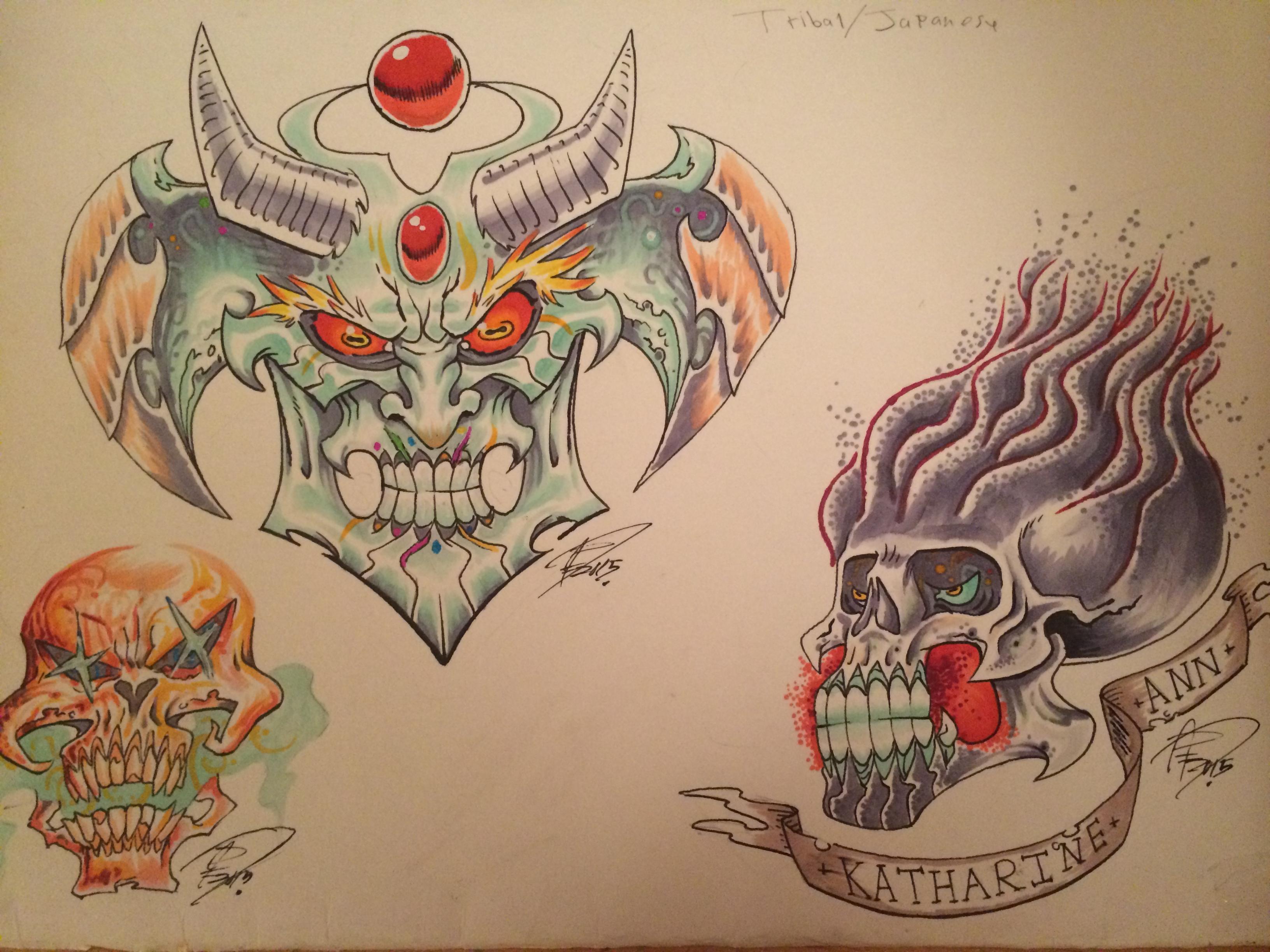 Grillhou5e tattoos