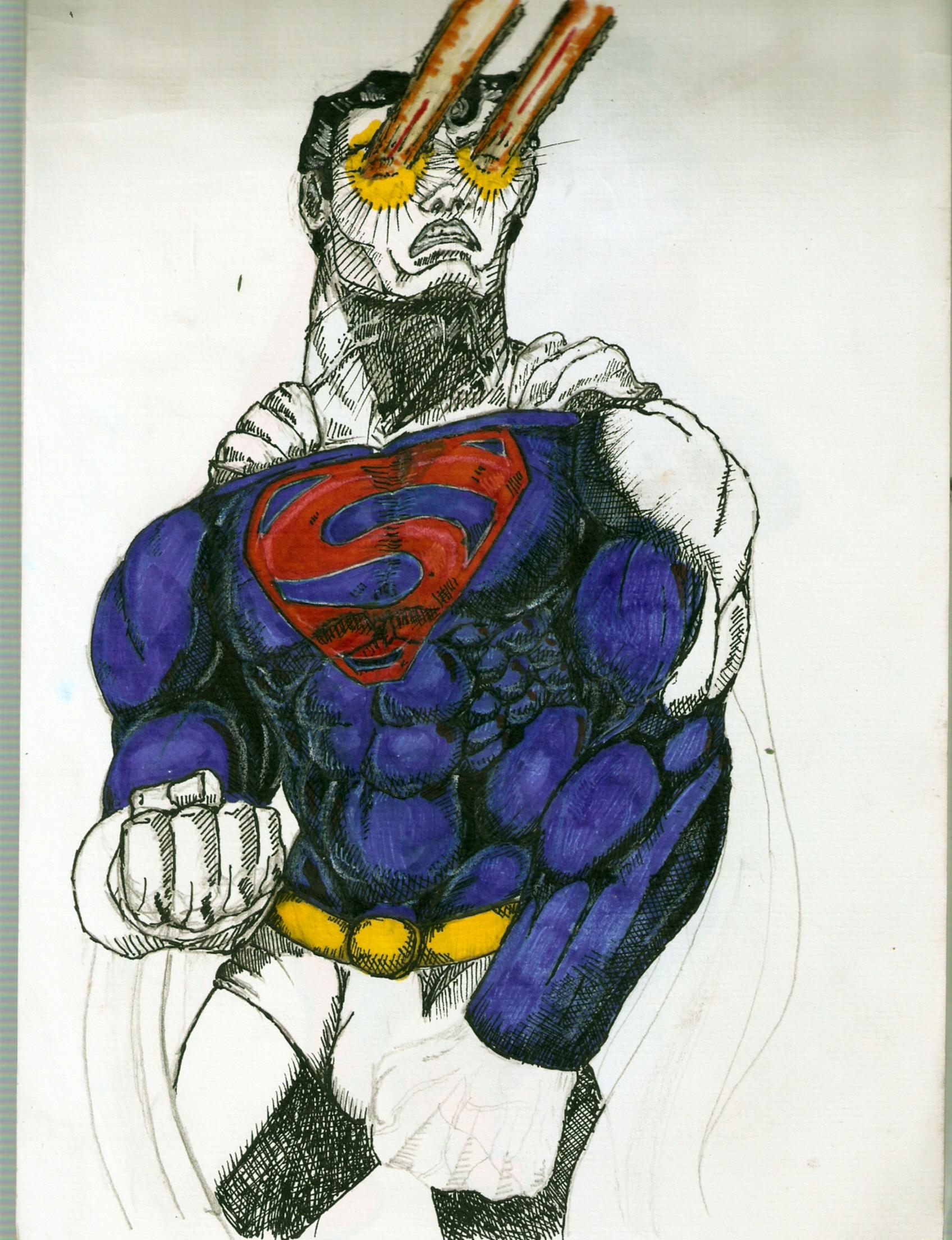 superman mixed technics test