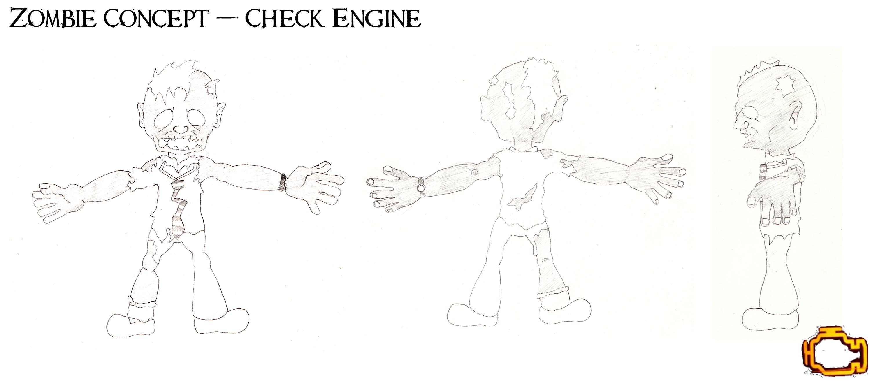 Zombie Model Concept