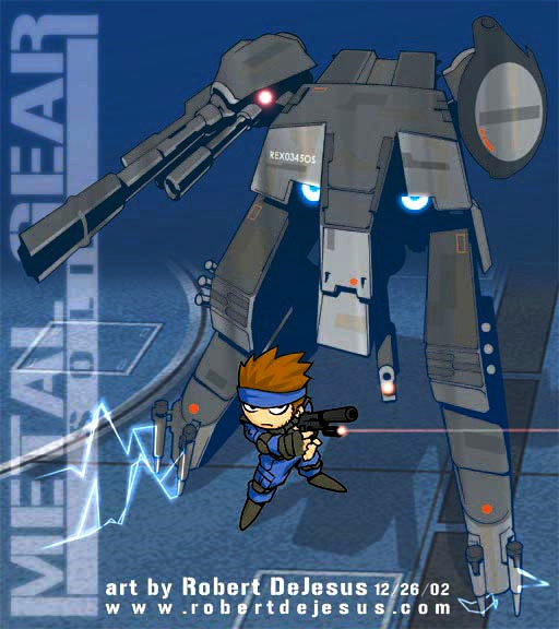 Chibi Metal Gear Solid