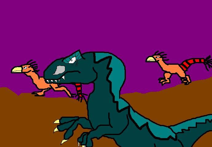 Dinosaur Chase