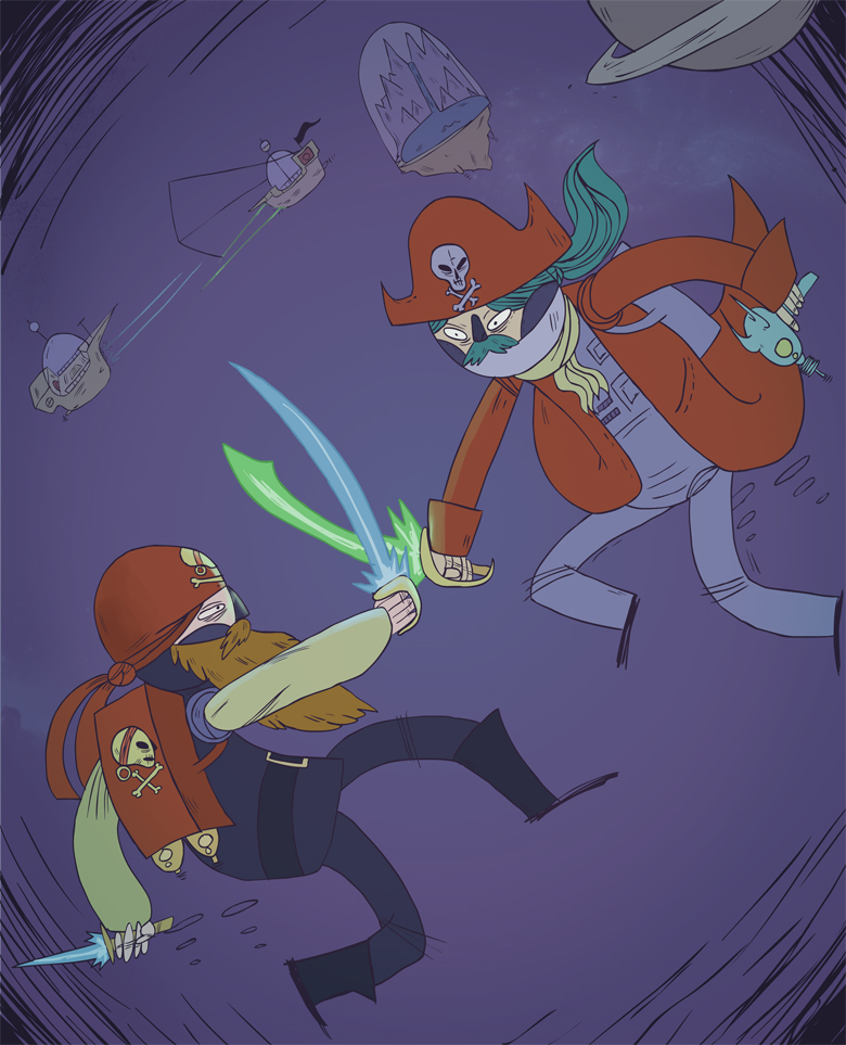 Space PIrate Battle