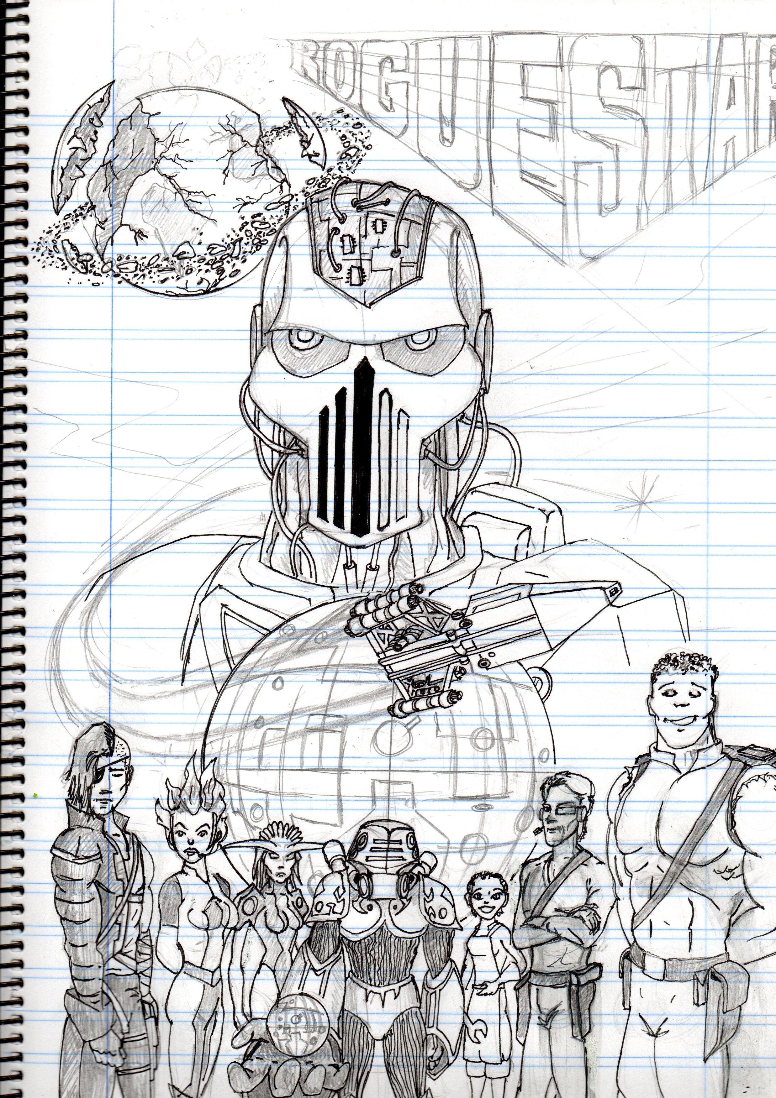 RogueStar sketch