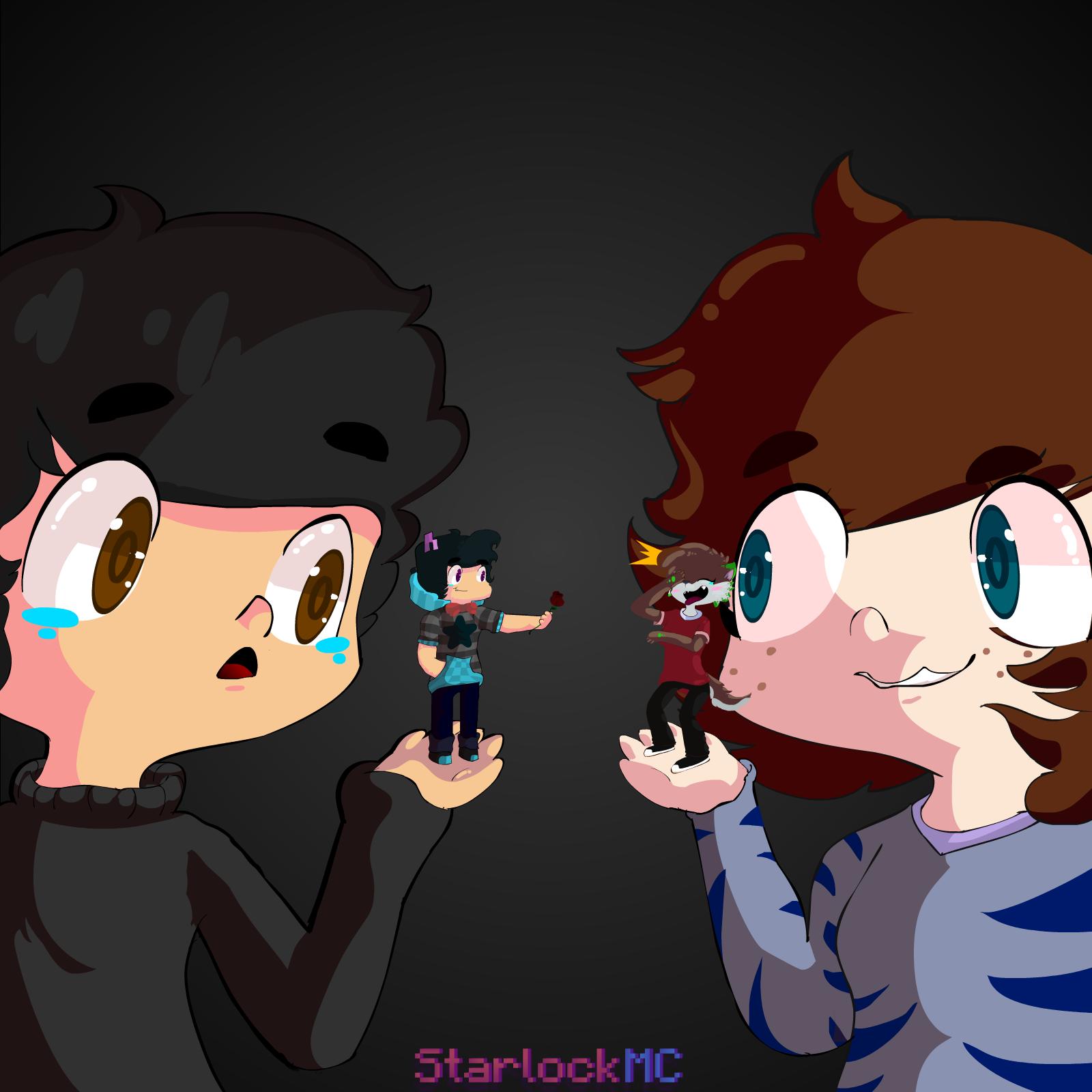 Starlock and Wolfiisaur