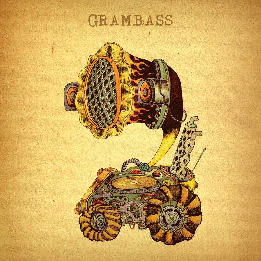 GRAM bass CD-Cover