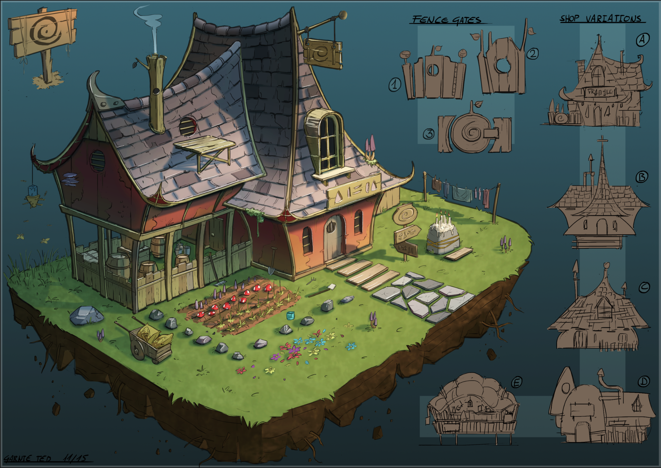 Potion brewery/shoppe concept