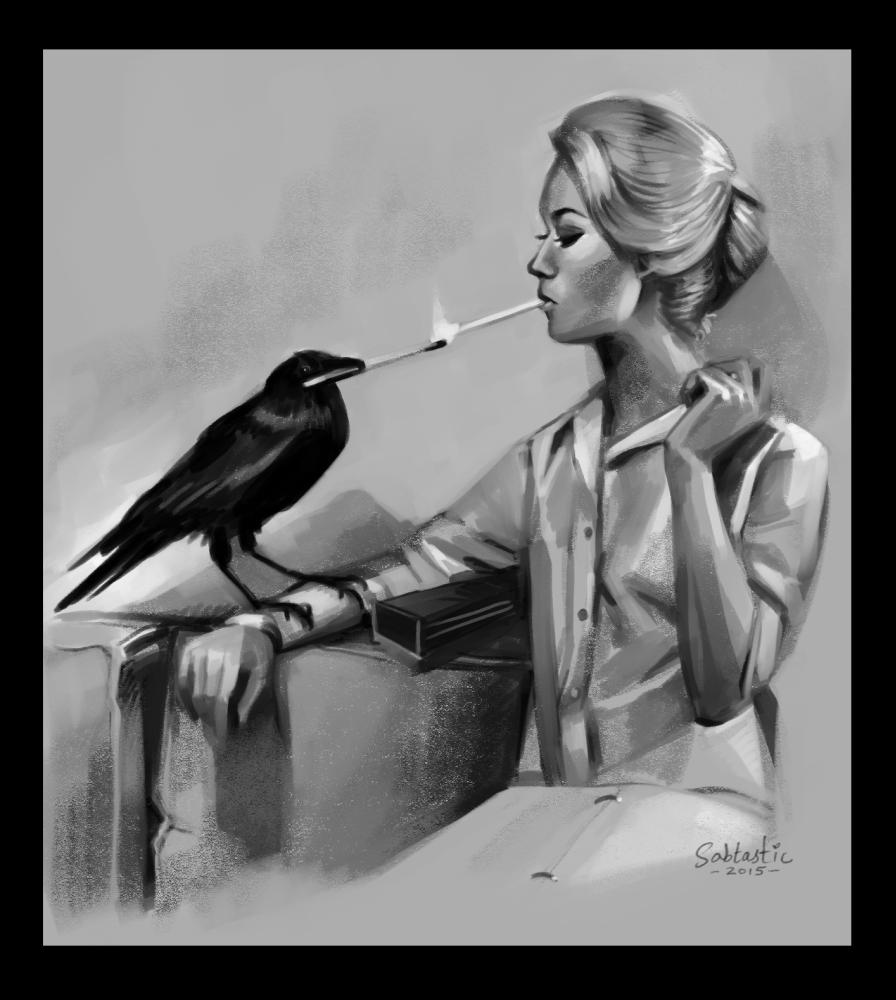 Helper Bird - 1 hr Value Study