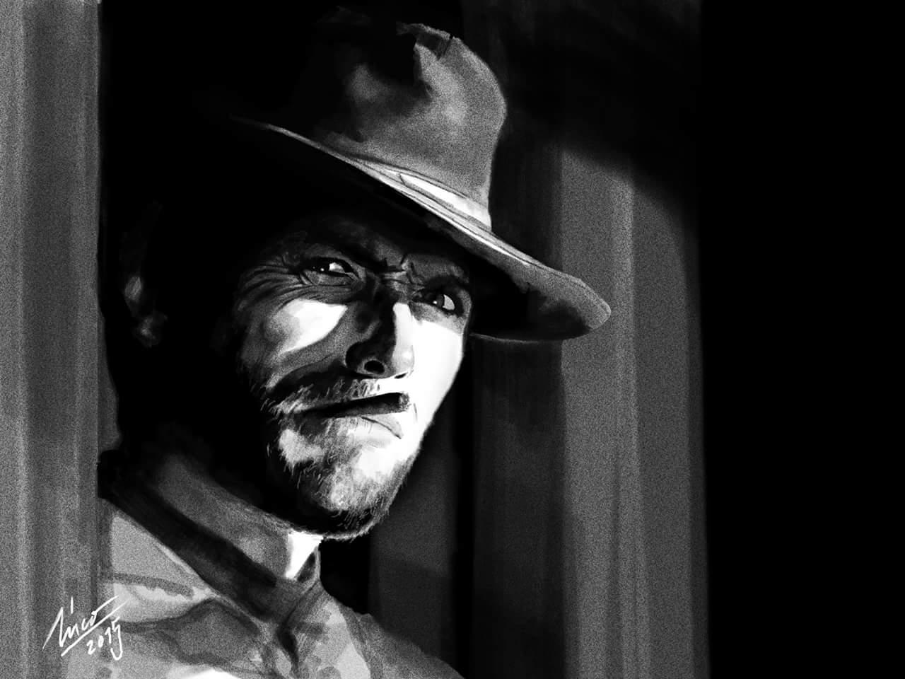 #CreativeJam Clint Eastwood