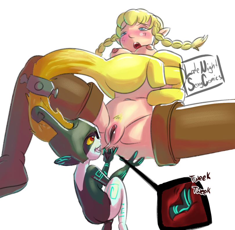 Linkle x Midna