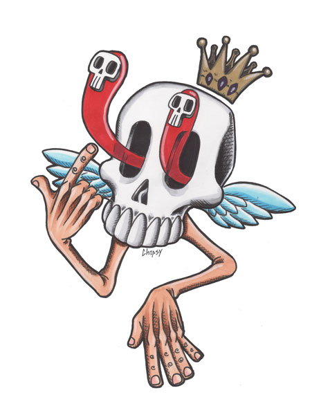Floaty Skull