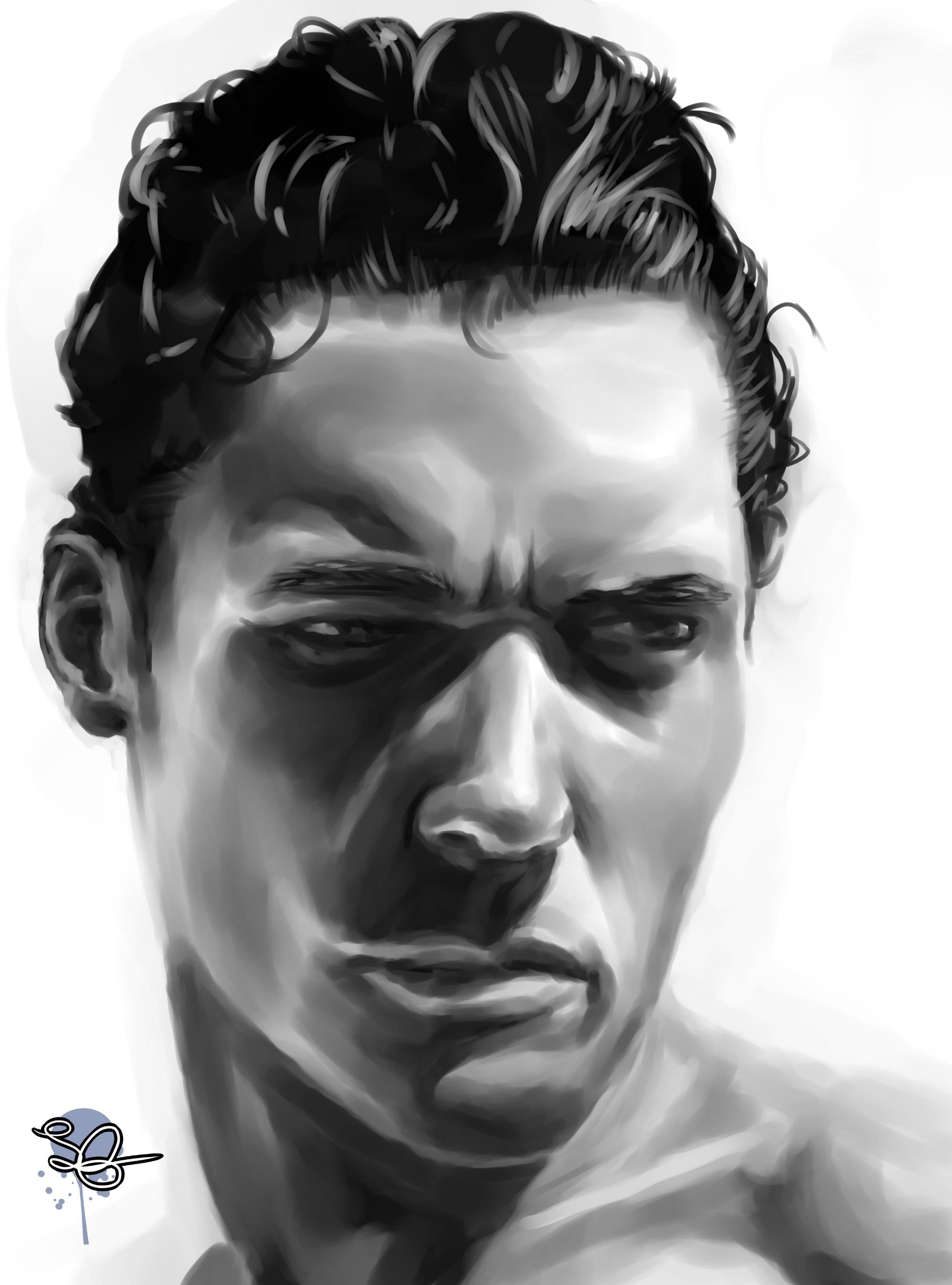 Male Tonal Portrait