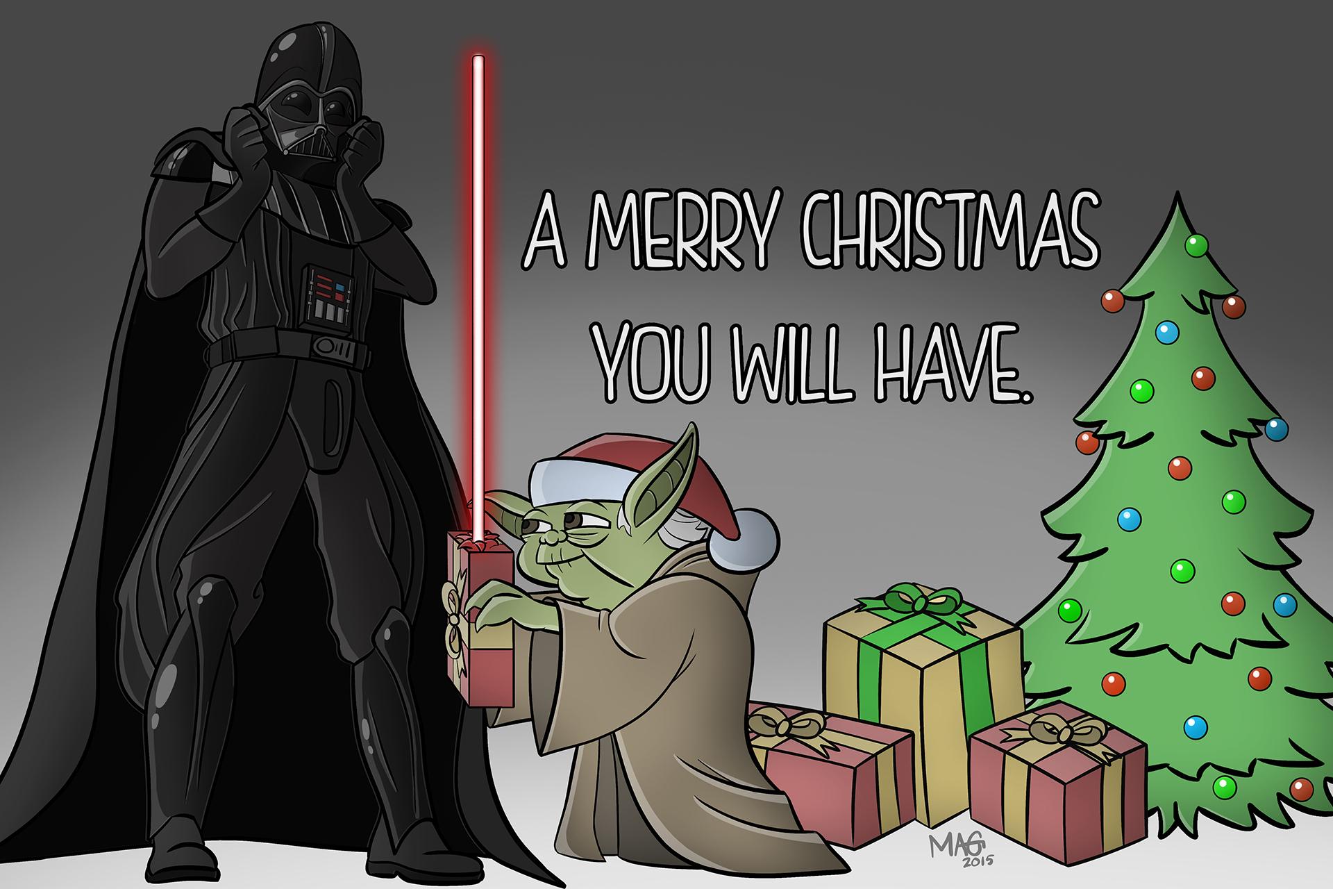 Merry Christmas Darth!