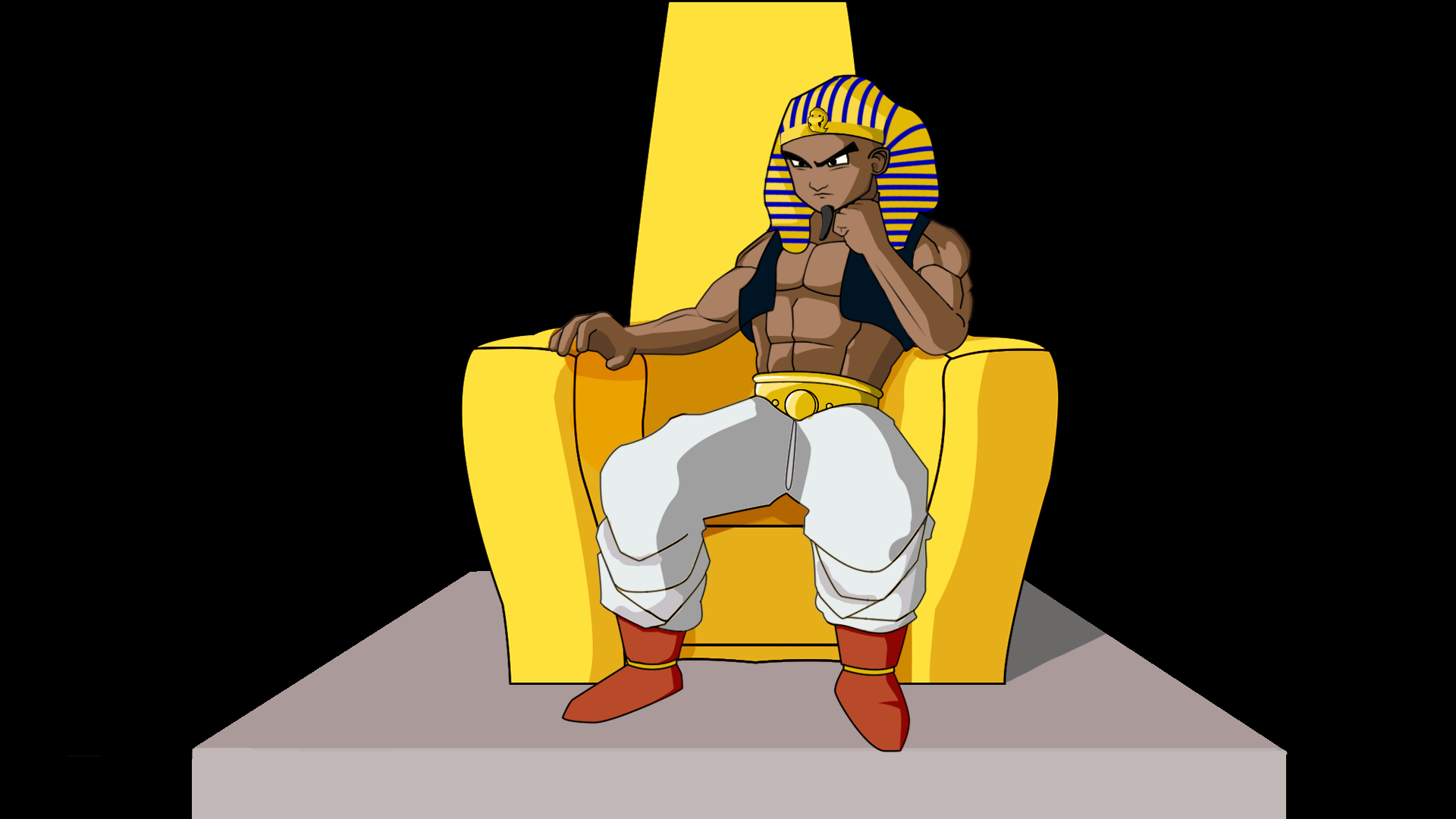 Young Pharaoh