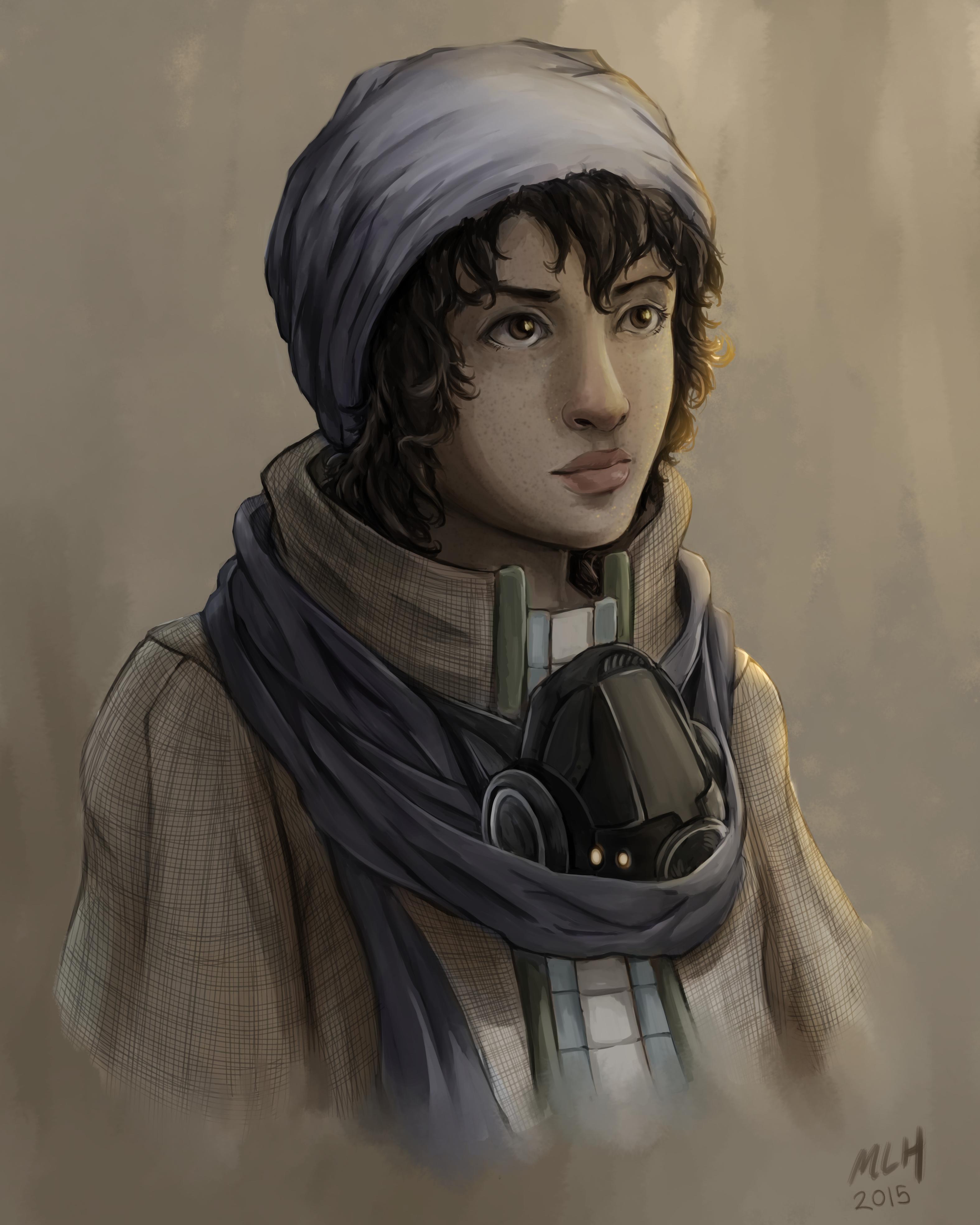 Desert portrait 2