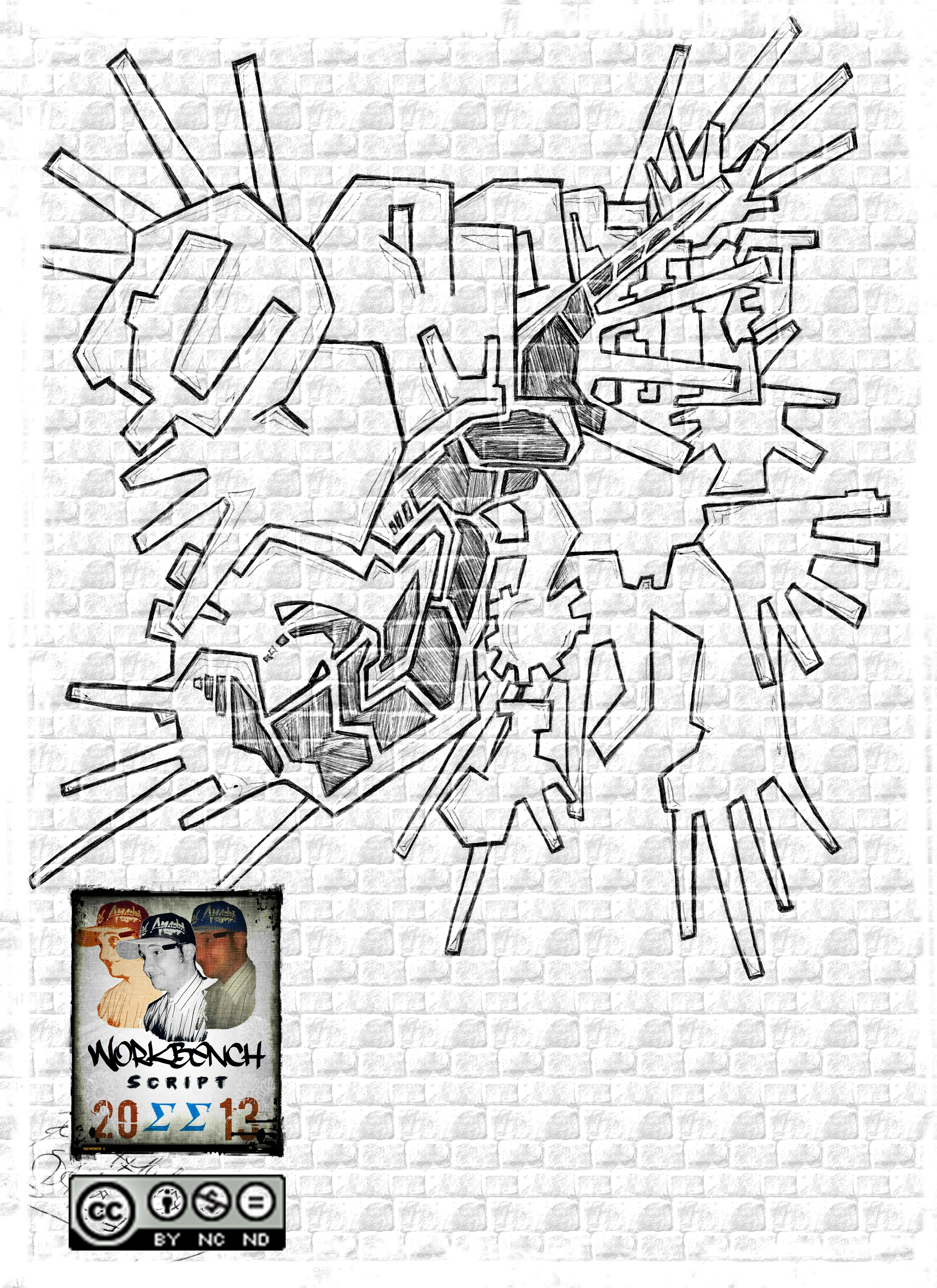 Real Graffiti Shit Vol.2 by Workbench Script SS