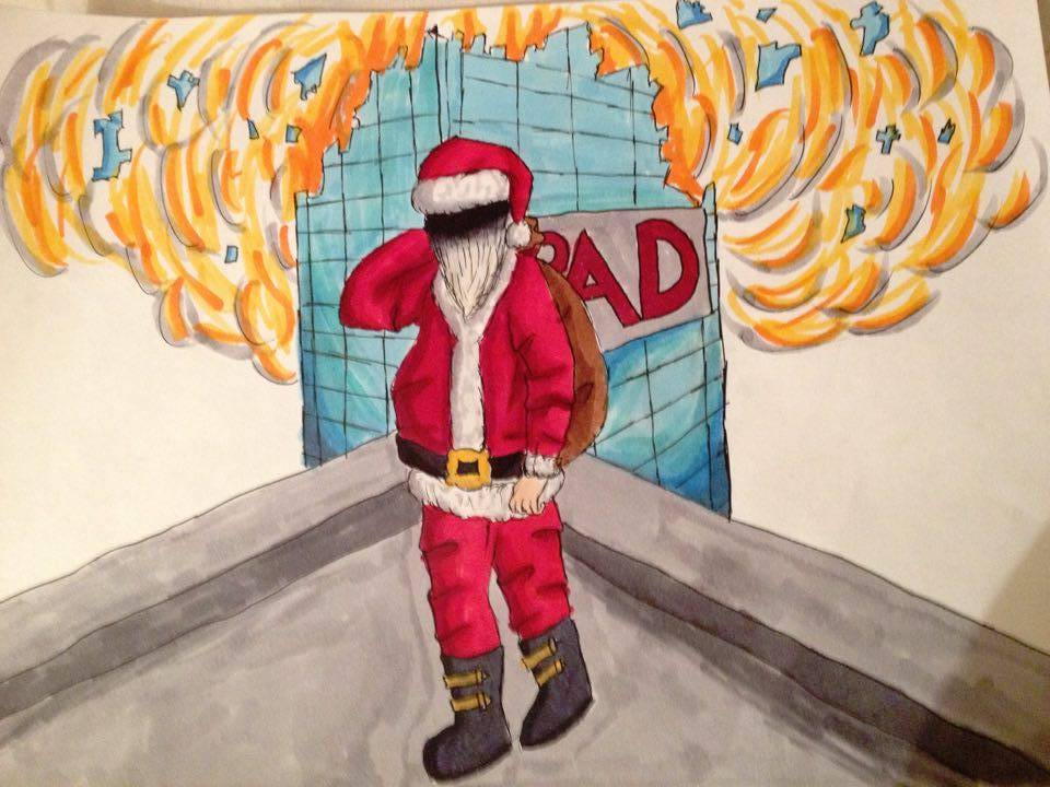 Epic Santa by 13 year old