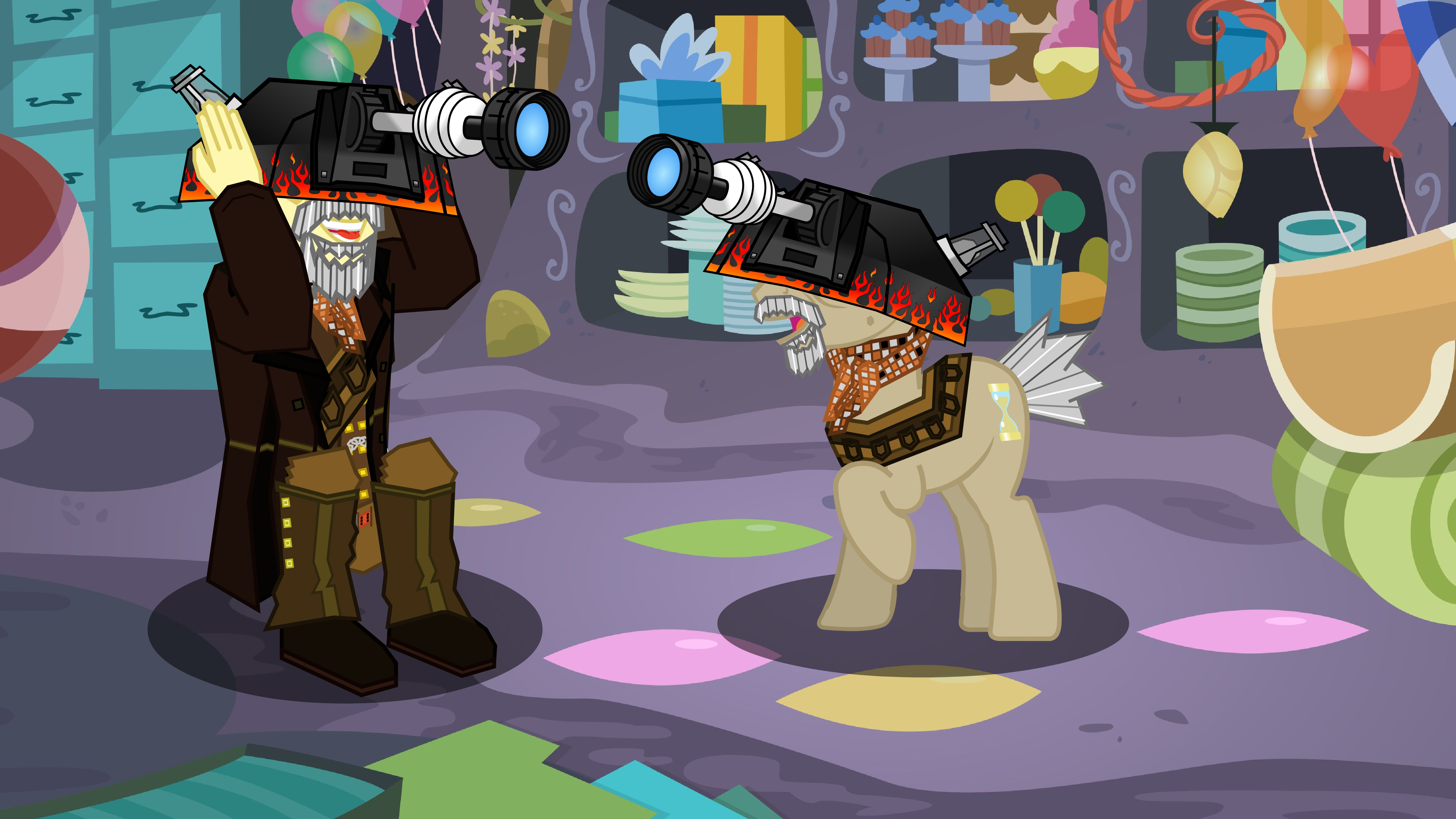 War Dr Whooves and War Doctor Goofing Around