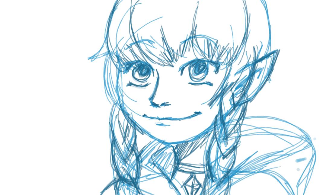 linkle. sketch