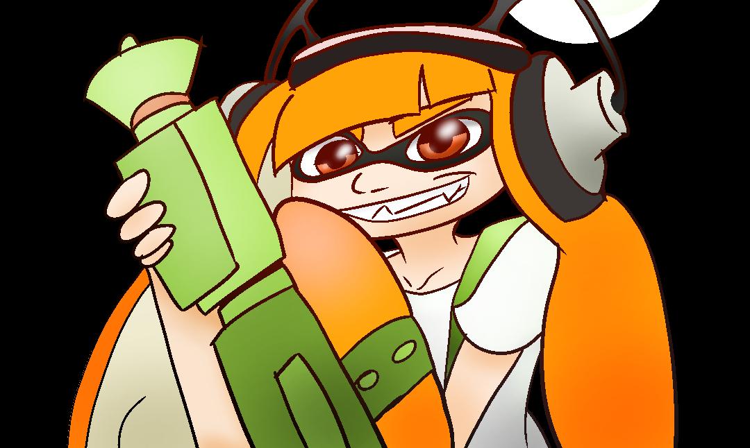 Splatoon squidgirl