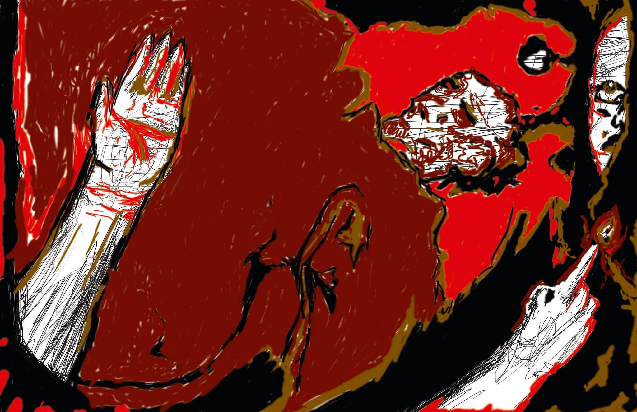 Artería 02 - Brote de De Flor Roja