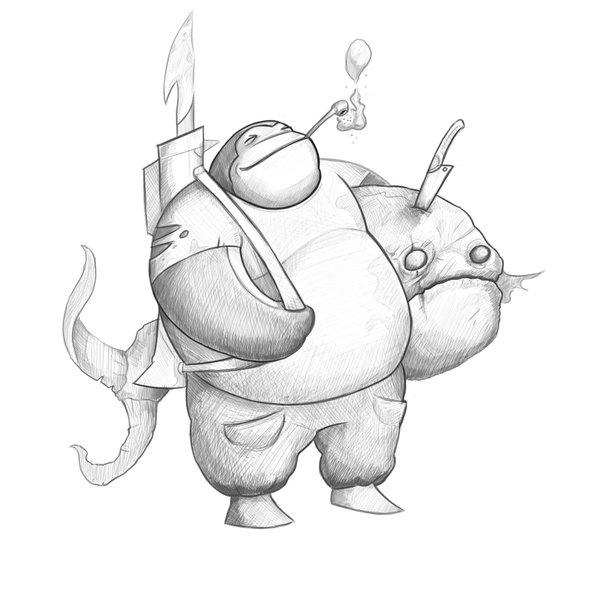 Intergalactic Big Fish-Trader