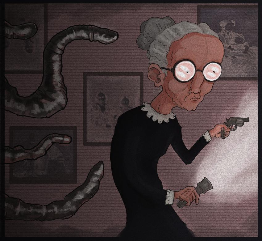 Agatha Rose VS Cosmic Horror