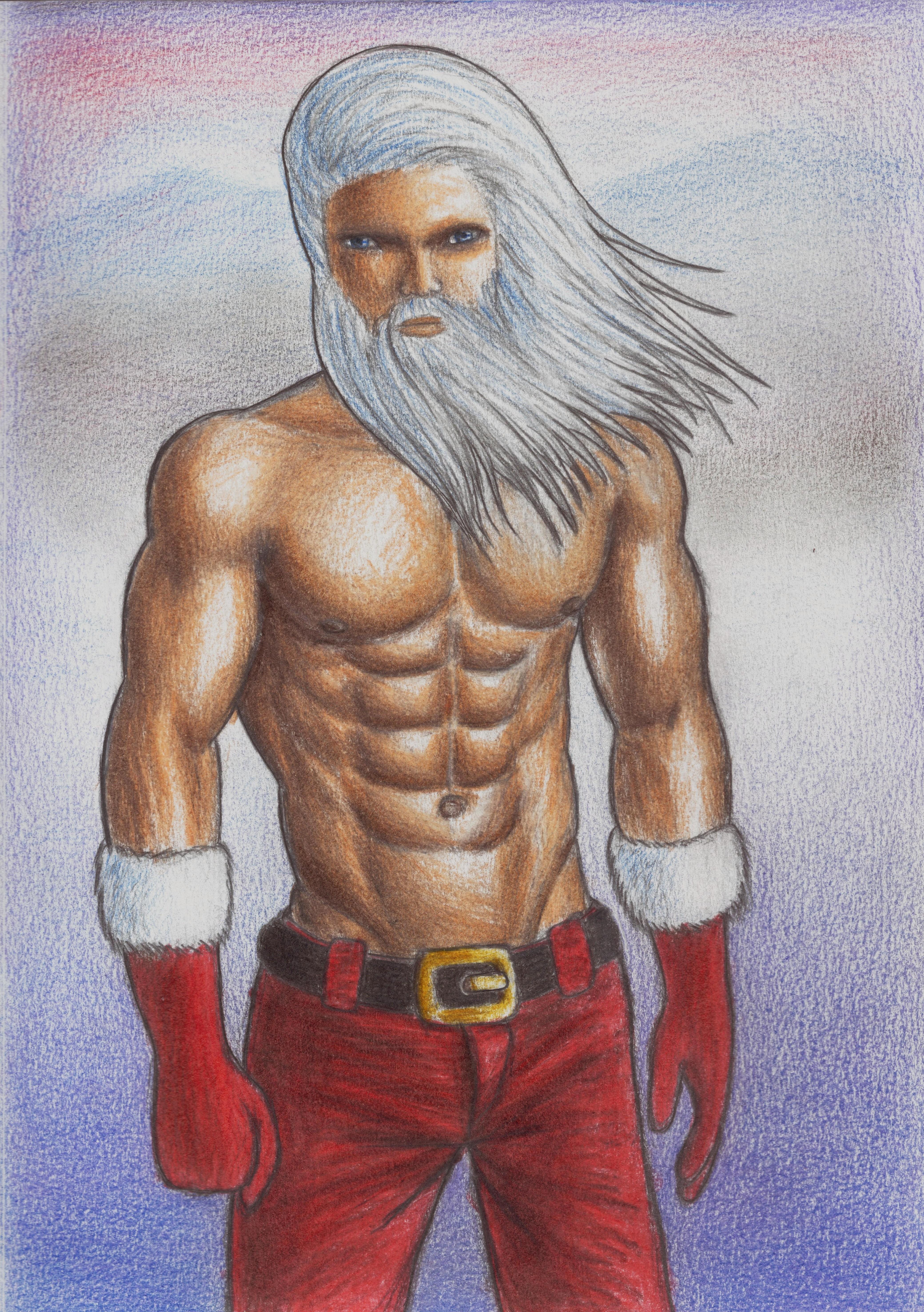 Santa's Epic Transformation