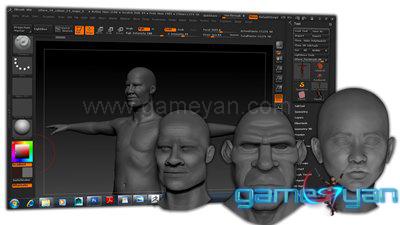 Character sculpting Studio