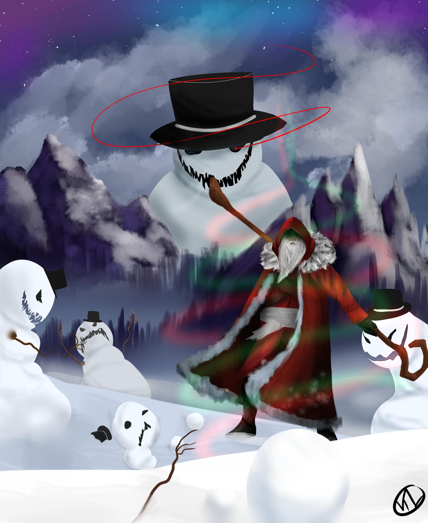 attack of the evil snowmen