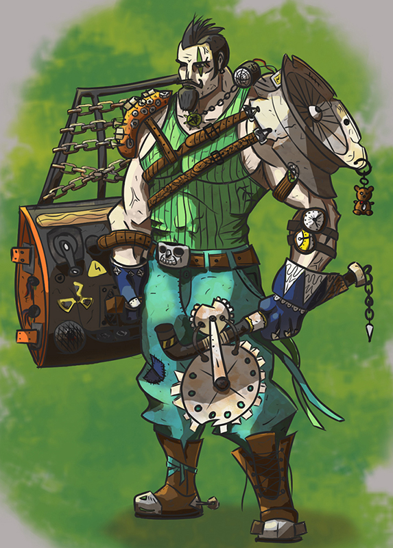 'Junk-Punk' warrior