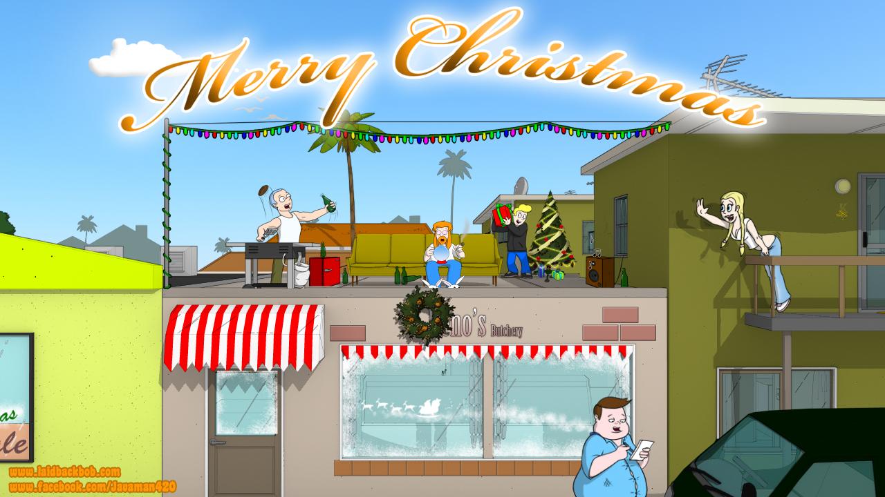 Laidback Bob - Rooftop Christmas