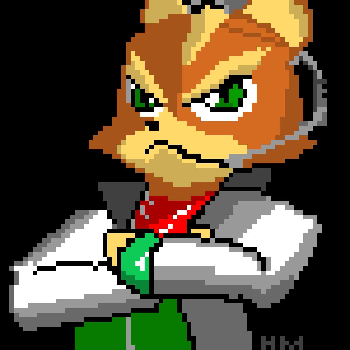 Fox McCloud [pixel]